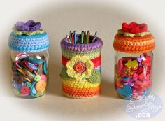 jar toppers can cover by Liz2006, via Flickr