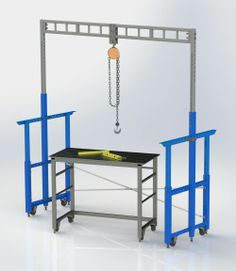 ❧ lift for workbench
