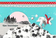 design: mieskeklomp.blogspot.nl #101kerstkaartencountdown2012 #cards #christmascard #postcard #holidaycards #dutchdesign #101woonideeen #kerstkaarten Holiday Cards, December, Snoopy, Kids Rugs, Blog, Fictional Characters, Design, Christian Christmas Cards, Kid Friendly Rugs