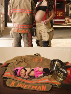 Yes we will be a fire fighters family this is awesome I love this idea we have to do this