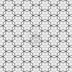 六角形の要素とのシームレスな幾何学模様。ベクトルの芸術。 ストックフォト - 8372145