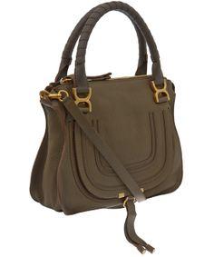 Chloe Medium Khaki Marcie Bag