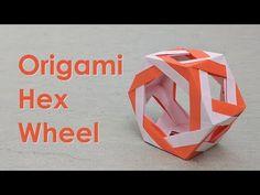 Modular Origami Tutorial: Hex Wheel (Ira Fine) - YouTube
