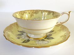 Paragon Yellow Gardenia Tea Cup & Saucer                                                                                                                                                      More