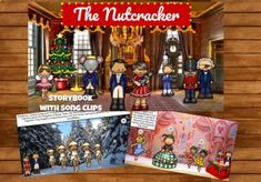 "The classic story of ""The Nutcracker"" from E.T.A. Hoffman is retold in this colorful storybook! Perfect for an introduction to the story and music, or as a review for your elementary students.This is an interactive Google Slides presentation with MP3 files of 12 songs from The Nutcracker! MP3's incl..."