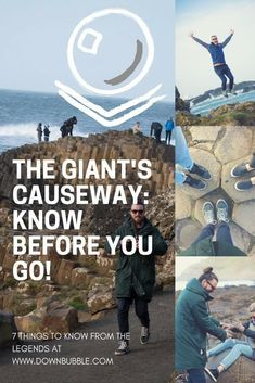 Don't get stuck in Finn McCool's boot and even more useful advice to know before visiting the Giant's Causeway, Northern Ireland! Traveling to Northern Ireland? You'll want to see the Giant's Causeway - use our guide for a self-drive one day trip itinerary and more! via @downbubbletravels