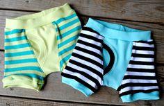 Undercover Bottoms Boxer Briefs Home Sew Pattern Sizes 12-18 months to 14 :: Fishsticks Designs Online Shop