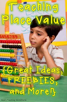 Teaching Place Value (Great Ideas, FREEBIES, and More!)