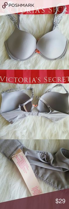 VIctoria's secret bra push up N3 New without tags! The tags have been removed in VS warehouse.   PRICE IS FIRM! No trades! No modeling! No holds, sorry!  Thank you so much for shopping my closet! :) Victoria's Secret Intimates & Sleepwear Bras