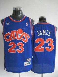 00b72169cc9 Mitchell and Ness Cleveland Cavaliers #23 LeBron James Stitching Blue CAVS  NBA Jersey Ncaa College