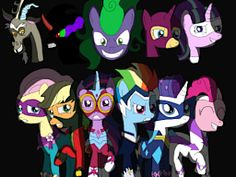 The adventures of the Mane 6 as the Power Ponies as they defend Maretropolis from dastardly evil-doers, including the Mane-iac, the Equalizer, the Phoenix, and the God of Chaos himself.