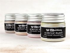 Prima Marketing-Finnabair Art Alchemy Acrylic Paint.