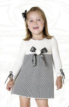 платье спицами от Carmen Taberner