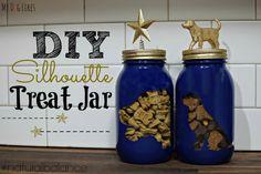 How to make a DIY Dog Treat Jar from MyDogLikes!