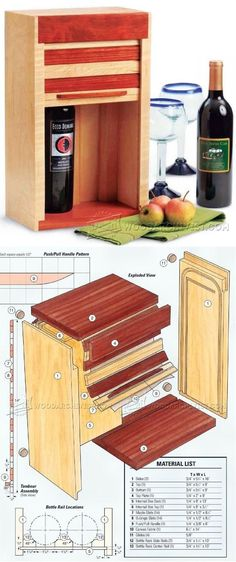 Showing off your creativity is easy when you take on woodworking. Many people enjoy woodworking as a hobby. Woodworking At Home, Woodworking Workshop, Woodworking Furniture, Woodworking Projects Plans, Furniture Plans, Wine Gift Boxes, Wine Gifts, Easy Wood Projects, Small Boxes