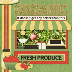 Organic Apples by smikeel. Kit: Veggie For Sale by Karenheckyeah Digital Designs http://scrapbird.com/designers-c-73/k-m-c-73_516/karenheckyeah-digital-designs-c-73_516_565/veggies-for-sale-p-18008.html