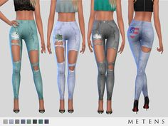 Shay Jeans by Metens at TSR • Sims 4 Updates