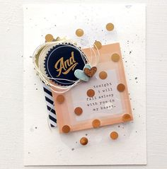 With You in My Heart card by Dani at @studio_calico