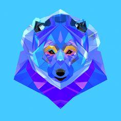 facets animal #illustration