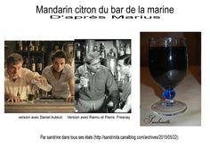 Mandarin citron du bar de la marine
