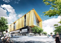 New Central Library In Christchurch - Picture gallery