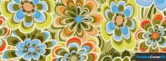Spring Floral Pattern 1 Facebook Cover Timeline Banner For Fb35 Facebook Cover