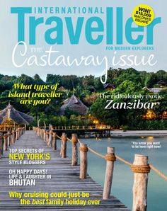 Issue 16 of International Traveller magazine, featuring our islands special.