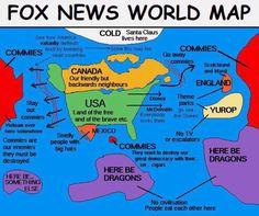 #FoxNews teaches geography. #FoxNewsFacts