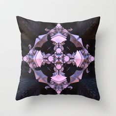 CenterViewSeries054 Throw Pillow by fracts - fractal art - $20.00