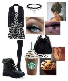 """""""Untitled #443"""" by tristen-elmer on Polyvore featuring Betsey Johnson, MeMoi, Aéropostale and Valentino"""