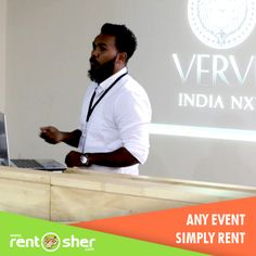 "RentSher helped ""#St_Josephs college of Business Administration"" in conducting an Event ""#Verve_2016"" by providing 8 sets of #Projectors and #Screens on rent. Visit us for pleasant event hosting experience: Bangalore: http://bit.ly/2fImLFN Delhi: http://bit.ly/2fIjm9Q"