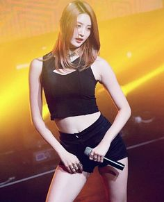 junghwa and her hot body