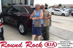 https://flic.kr/p/JytB7p | Congratulations Valarie on your #Kia #Sorento from Brent Graham at Round Rock Kia! | deliverymaxx.com/DealerReviews.aspx?DealerCode=K449