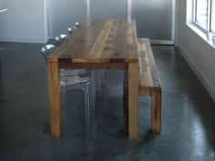 Big Sur Natural 65 Dining Table In Tables