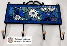Mosaic Ideas, Mosaic Patterns, Mosaic Wall, Mosaic Glass, Stained Glass Christmas, Mosaic Crafts, Coat Hanger, Wall Plaques, Mosaics