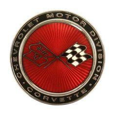 Amazon.com: 1973-74 Corvette Front Emblem Tin Sign: Home & Kitchen