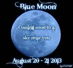 TAROT READING during THE BLUE FULL MOON today! Namaste Bookshop from 12N - 9:30PM! Great time for a Tarot reading. http://www.namastebookshop.com/