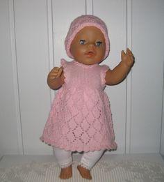 Dukkeklær til baby born