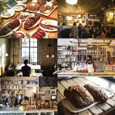Brooklyn NY    Marlow and Diner and and and....!!!! An ever-expanding Google Map charting the connections between places and people in Andrew Tarlow's Brooklyn restaurant empire—and beyond