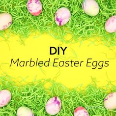 You can decorate a dozen marbled Easter eggs with this spring DIY video tutorial.