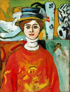 'The Girl with Green Eyes', 1908 - Henri Matisse