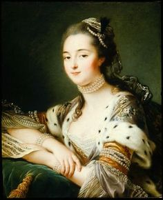 Mlle. Marguerite Catherine Haynault, later the Marquise de Montmelas in Turkish Costume Portrait of a Woman in Turkish Costume (said to be Mlle. de Romans) 1762 François Hubert Drouais