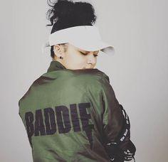 Baddie Bomber Jacket by Thug Ave