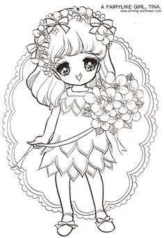 Sunflower Coloring Book Pages