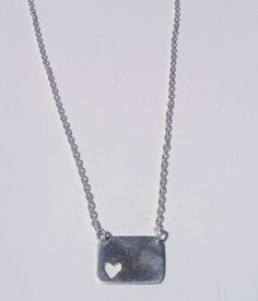 Silver Necklace # Don`t break my heart collection # http://tulpabyalexandra.blogspot.pt/