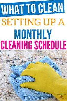 Life Hacks : What To Clean: Setting Up A Monthly Cleaning Schedule Setting up a monthly cleaning schedule will allow you to know that your whole house is Deep Cleaning Tips, Car Cleaning, Cleaning Solutions, Spring Cleaning, Cleaning Routines, Cleaning Lists, Daily Routines, Monthly Cleaning Schedule, Monthly Plan