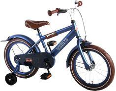 Volare Urban City - Kinderfiets - 16 Inch - Jongens - Blauw