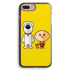 Brian and Stewie Apple iPhone 7 Plus Case Cover ISVH356