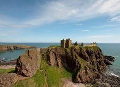 Dunnottar Castle in Stonehaven, Aberdeenshire ~Neily