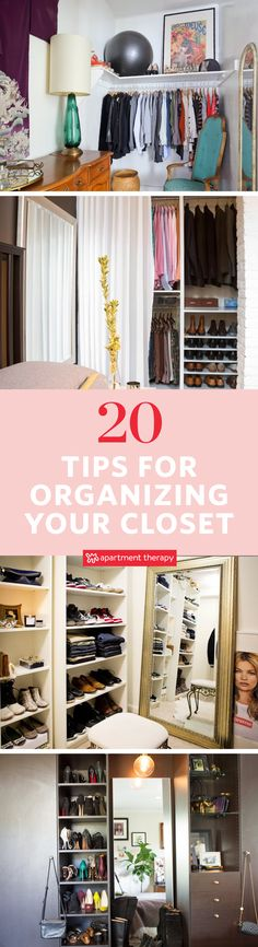 Is your closet getting out of hand or are you just looking to cleanse and cull your clothes & shoes? These tips and tricks are perfect for a weekend organizing spree to whip your closets into shape.